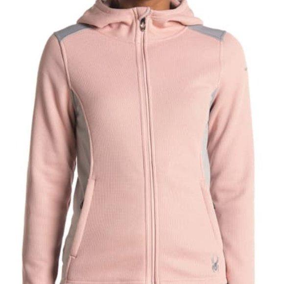 New Women's Spyder Layna Full Zip Hooded Jacket